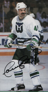 DAVID BABYCH - AUTOGRAPHED SIGNED PHOTOGRAPH