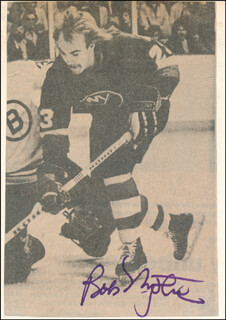 BOB NYSTROM - NEWSPAPER PHOTOGRAPH SIGNED