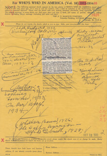 PRESIDENT FRANKLIN D. ROOSEVELT - ANNOTATED DOCUMENT UNSIGNED