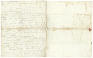 LT. GENERAL WINFIELD SCOTT - AUTOGRAPH LETTER SIGNED 01/18/1832