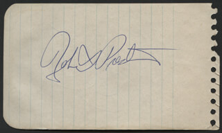 ROBERT PRESTON - AUTOGRAPH CO-SIGNED BY: RALPH BELLAMY