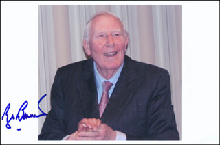 ROGER G. BANNISTER - AUTOGRAPHED SIGNED PHOTOGRAPH