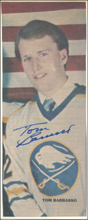 TOM BARRASSO - NEWSPAPER PHOTOGRAPH SIGNED