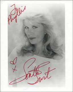 LORETTA SWIT - AUTOGRAPHED INSCRIBED PHOTOGRAPH