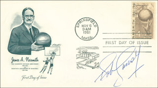 BOB COUSY - FIRST DAY COVER SIGNED