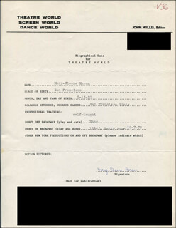 MARY-CLEERE HARAN - TYPED RESUME SIGNED