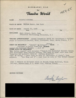 FAIRFAX BURGHER - TYPED RESUME SIGNED