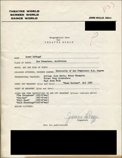 JAMES LEVAGGI - TYPED RESUME SIGNED