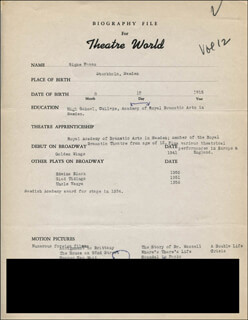 SIGNE HASSO - TYPED RESUME SIGNED