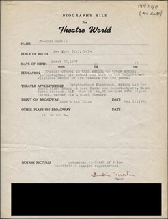FREDRIC MARTIN - TYPED RESUME SIGNED