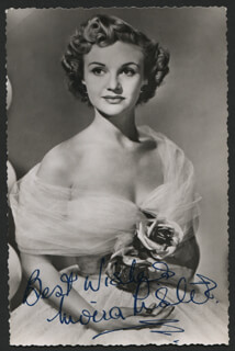 MOIRA LISTER - AUTOGRAPHED SIGNED PHOTOGRAPH