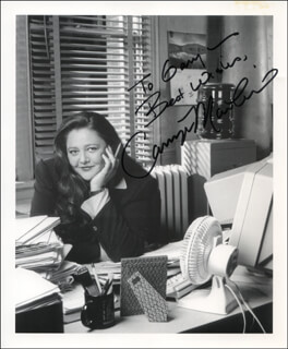 CAMRYN MANHEIM - AUTOGRAPHED INSCRIBED PHOTOGRAPH