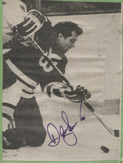 DAVE SEMENKO - NEWSPAPER PHOTOGRAPH SIGNED