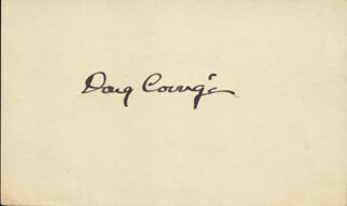 Autographs: DOUGLAS WRONG WAY CORRIGAN - SIGNATURE(S)