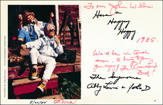 ABBY LEWIS - AUTOGRAPH LETTER SIGNED CIRCA 1985