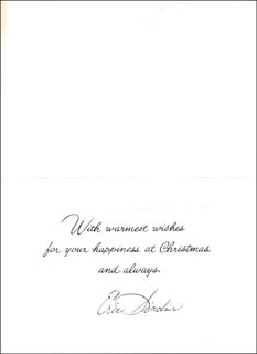 ERIC SINCLAIR - CHRISTMAS / HOLIDAY CARD SIGNED