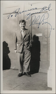 MICKEY ROONEY - AUTOGRAPHED INSCRIBED PHOTOGRAPH