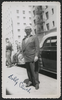 BOBBY CLARK - AUTOGRAPHED SIGNED PHOTOGRAPH