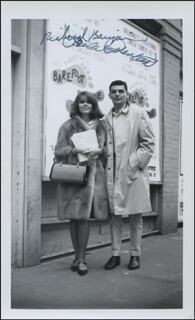 RICHARD BENJAMIN - AUTOGRAPHED SIGNED PHOTOGRAPH CO-SIGNED BY: PAULA PRENTISS