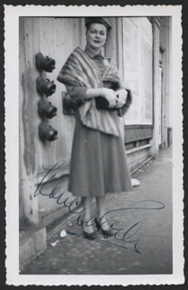 NANCY KELLY - AUTOGRAPHED SIGNED PHOTOGRAPH