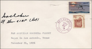 GENERAL IRA C. EAKER - ENVELOPE SIGNED CIRCA 1979
