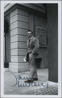 JAMES MITCHELL - AUTOGRAPHED SIGNED PHOTOGRAPH
