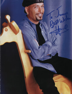HOWIE MANDEL - INSCRIBED MAGAZINE PHOTO SIGNED