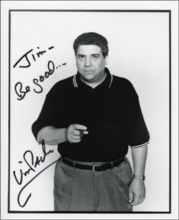 VINCENT PASTORE - AUTOGRAPHED INSCRIBED PHOTOGRAPH