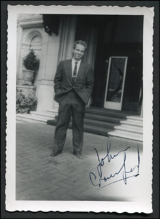 JOHN CRAWFORD - AUTOGRAPHED SIGNED PHOTOGRAPH
