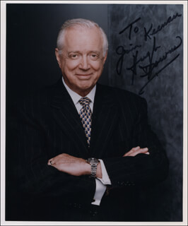 HUGH DOWNS - AUTOGRAPHED INSCRIBED PHOTOGRAPH