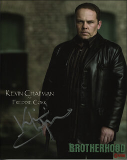 KEVIN CHAPMAN - PRINTED PHOTOGRAPH SIGNED IN INK