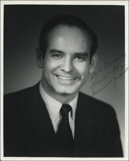 GOVERNOR ROBERT D. RAY - AUTOGRAPHED SIGNED PHOTOGRAPH