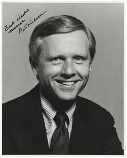 PETE BARTON WILSON - AUTOGRAPHED INSCRIBED PHOTOGRAPH