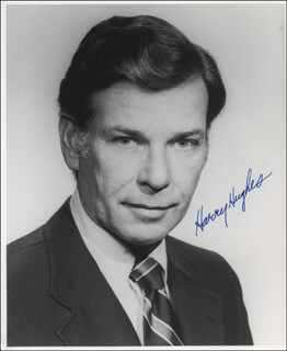 HARRY HUGHES - AUTOGRAPHED SIGNED PHOTOGRAPH