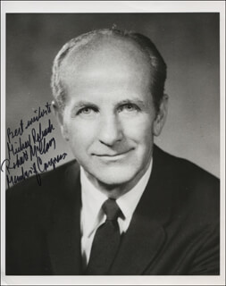 ROBERT McCLORY - AUTOGRAPHED INSCRIBED PHOTOGRAPH