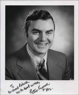 PETER N. KYROS - AUTOGRAPHED INSCRIBED PHOTOGRAPH