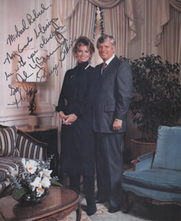 GOVERNOR JOHN Y. BROWN JR. - AUTOGRAPHED INSCRIBED PHOTOGRAPH CO-SIGNED BY: PHYLLIS GEORGE