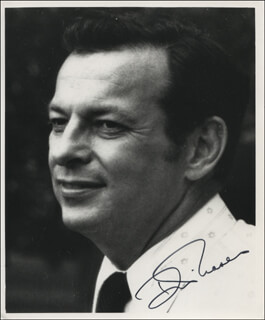 DONALD FRASER - AUTOGRAPHED SIGNED PHOTOGRAPH