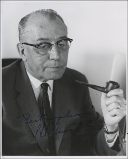 H. R. GROSS - AUTOGRAPHED SIGNED PHOTOGRAPH