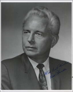 BILL HARSHA - AUTOGRAPHED SIGNED PHOTOGRAPH