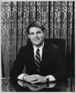 GOVERNOR EVAN BAYH - AUTOGRAPHED SIGNED PHOTOGRAPH