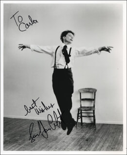 LEONARD JOHN CROFOOT - AUTOGRAPHED INSCRIBED PHOTOGRAPH