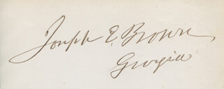 Joseph E. Brown Autographs 316031