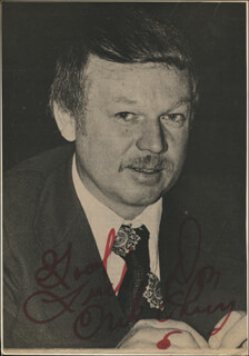 DON CHERRY - INSCRIBED NEWSPAPER PHOTO SIGNED