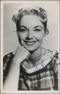 VIRGINIA GORSKI-GIBSON - AUTOGRAPHED SIGNED PHOTOGRAPH