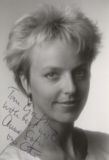 ANNE SOPHIE BRIEST - AUTOGRAPHED INSCRIBED PHOTOGRAPH