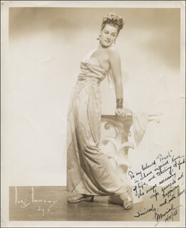 MURIEL ANGELUS - AUTOGRAPHED INSCRIBED PHOTOGRAPH 10/21/1948