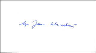 Autographs: BISHOP JAN SZKODON - SIGNATURE(S)