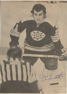 DON MARCOTTE - NEWSPAPER PHOTOGRAPH SIGNED