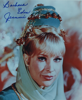BARBARA EDEN - AUTOGRAPHED SIGNED PHOTOGRAPH